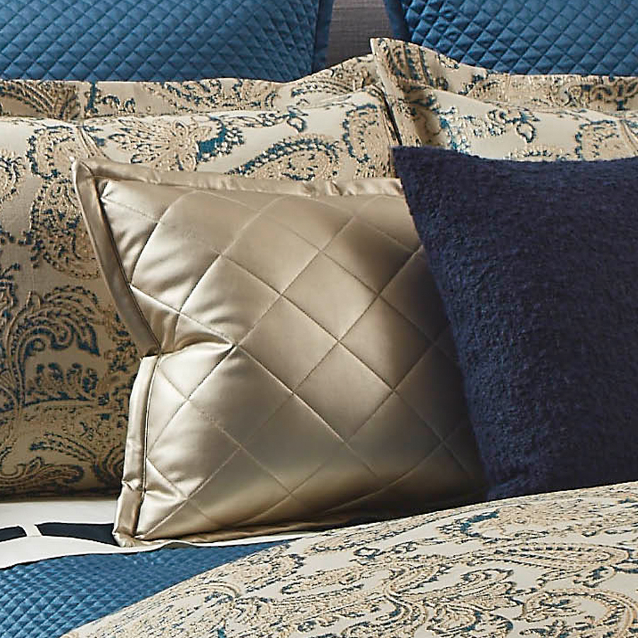 faux leather pillow by ann gish quilted leather throw pillow