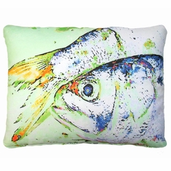 Fish Outdoor Pillow