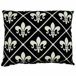 French Quarter Fleur de lis Patio Pillow