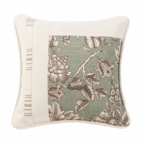 Gramercy Square Pieced Floral Pillow