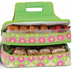 Green Gazebo Entertainer Insulated Food Carrier