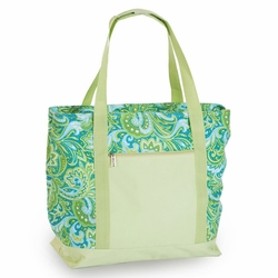 Green Paisley LIDO 2 in 1 Cooler Bag