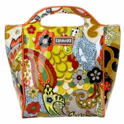 Hannah's Paisley Insulated Lunch Tote by Hadaki
