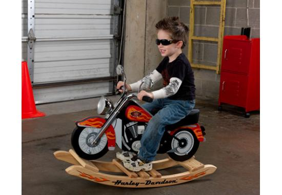 Boy S Harley Davidson Roaring Softail Rocker Kk Out Of