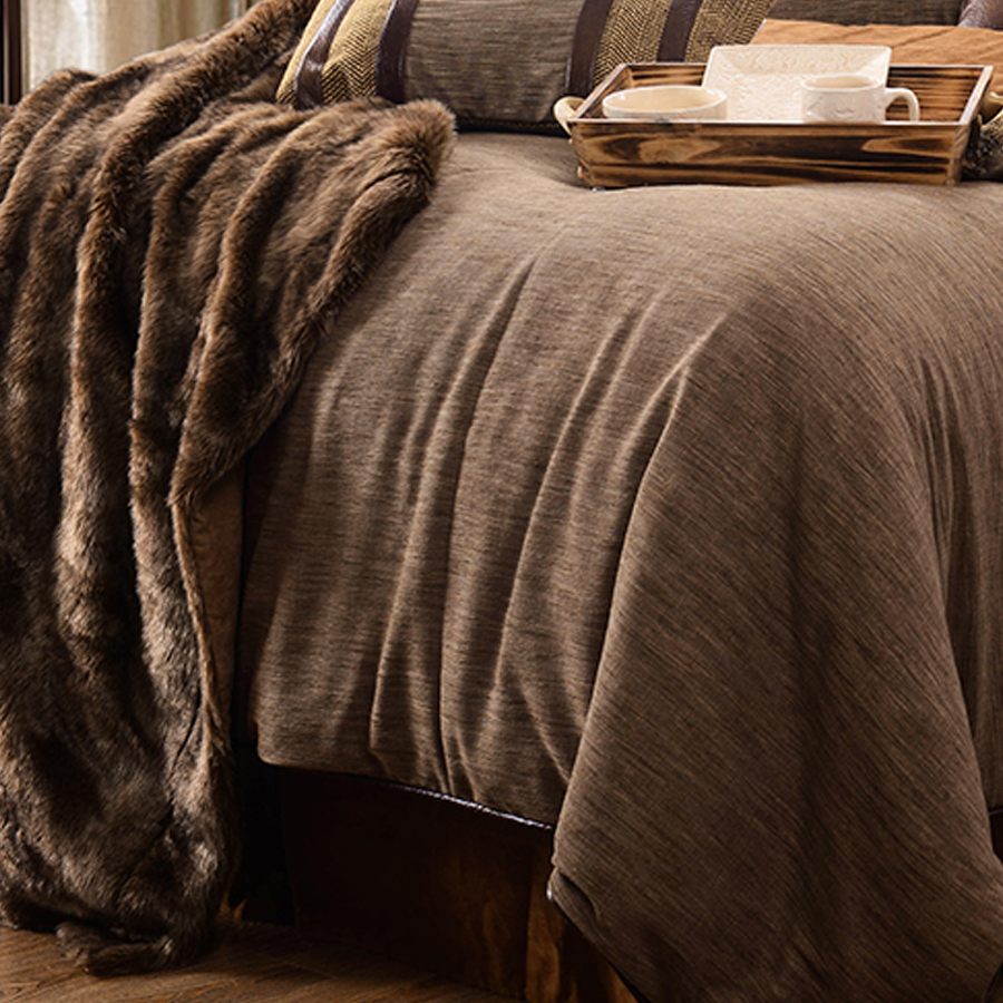 Hiend Accents Highland Lodge Comforter Set Twin Full