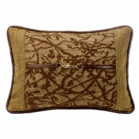 Highland Lodge Tree Pillow With Buckle Detail