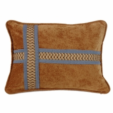 Lexington Cross Design Pillow