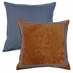 Lexington Reversible Framed Euro Sham