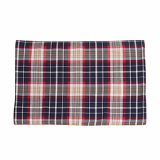 South Haven Blue Plaid Placemat With Rope Detail