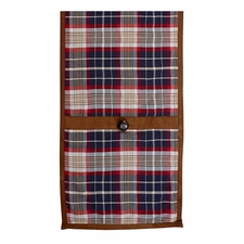 South Haven Blue Plaid Table Runner