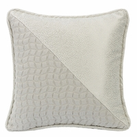 Wilshire Half and Half Decorative Pillow