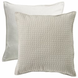 Wilshire Reversible Textured Fabric Euro Sham