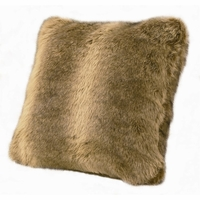 Wolf Faux Fur Pillow