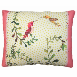 Hummingbirds Outdoor Pillow