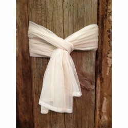 Ivory Window Scarf - Set of 4