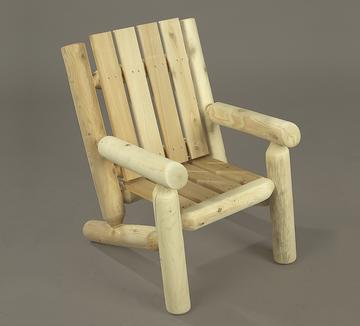 Delicieux Rustic Cedar Kidu0027s Junior Log Chair