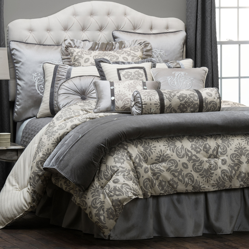 Kerrington 4 piece comforter set hiend accents luxury for Luxury home collection