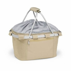 Khaki Insulated Market Basket