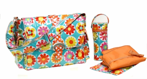 Laminated Buckle Style Diaper Bag