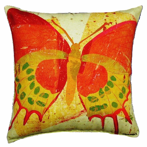 Large Butterfly Outdoor Throw Pillow Outdoor Pillows