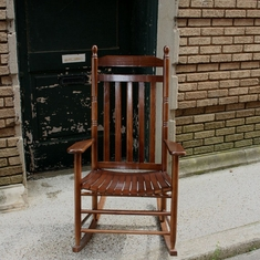 Large Traditional Rocking Chair