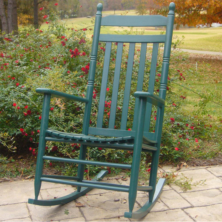 outdoor rocking chairs large wooden rocking chair made in the usa