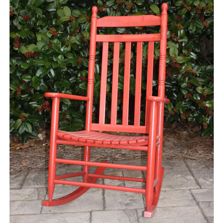 Beau Large Traditional Outdoor Rocking Chair