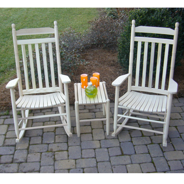 Large Traditional Outdoor Rocking Chair