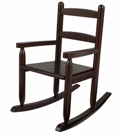 Lilu0027 Rocker Childu0027s Rocking Chair   Espresso