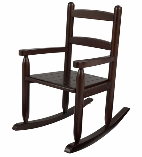 Exceptional Lilu0027Rocker Childu0027s Espresso Rocking Chair