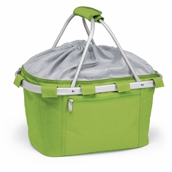 Lime Green Insulated Market Basket