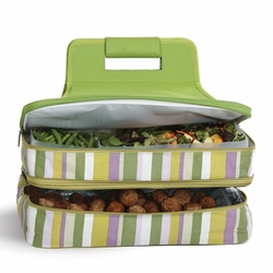 Lime Rickey Entertainer Insulated Food Carrier
