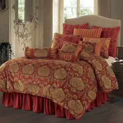 Lorenza 4 Piece Luxury Comforter Set