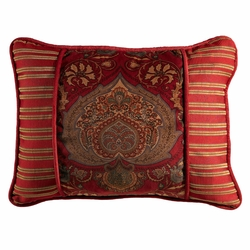 Lorenza Velvet Tapestry Accent Pillow