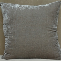 Luscious Platinum Decorative Pillow