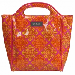 Medallion Passion Insulated Lunch Tote by Hadaki