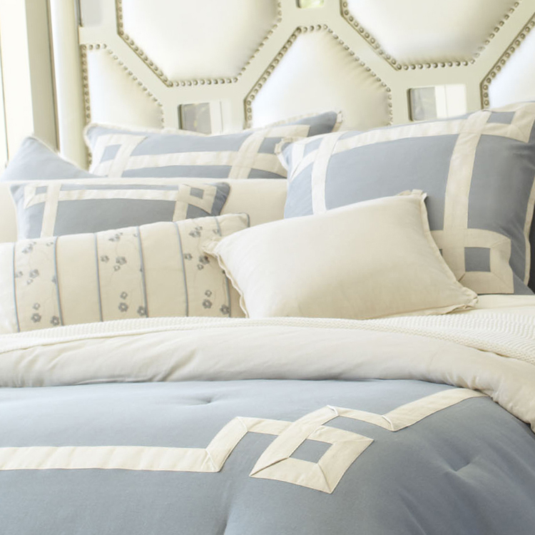 brookfield luxury bedding set  a michael amini bedding collection by aico
