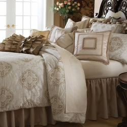 Michael Amini Cameo Luxury Bedding Collection