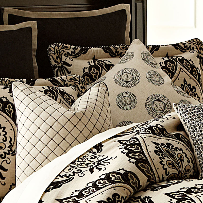 equinox luxury bedding set from the michael amini bedding collection