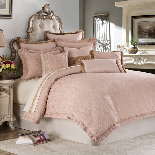 Michael amini fountaine luxury bedding king and queen for Michaels arts and crafts queens
