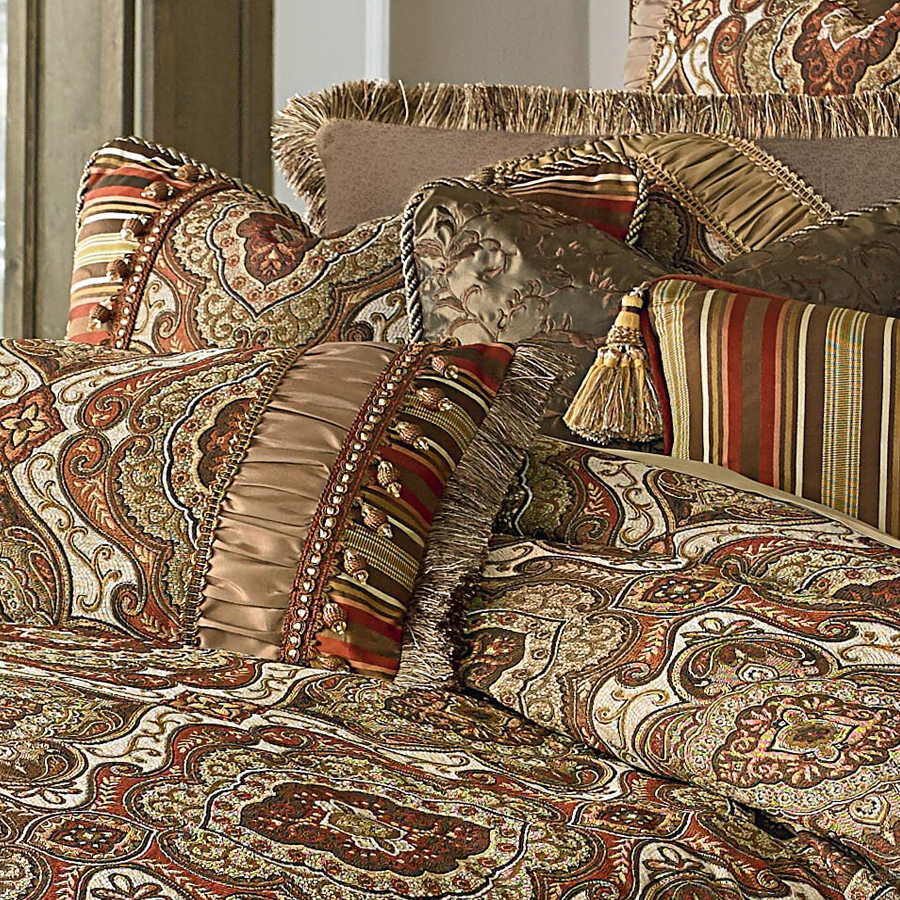 Michael Amini Hanover Bedding King Or Queen Size