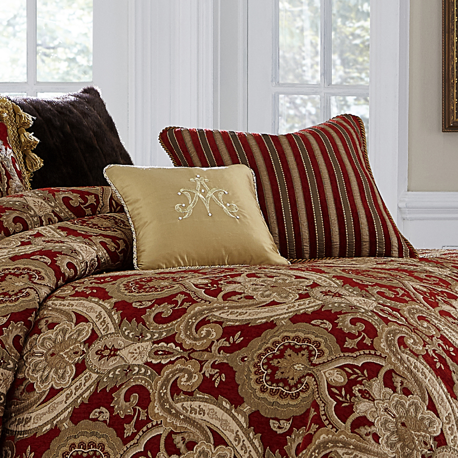Michael Amini Lafayette Bedding King Amp Queen Luxury
