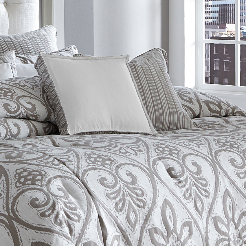 melrose park luxury bedding set  a michael amini bedding collection