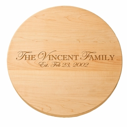 16 inch Personalized Lazy Susan