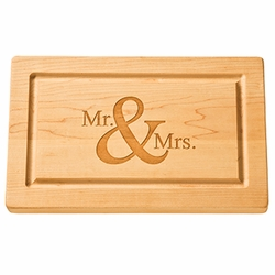 13 inch Rectangle Monogram Cutting Board