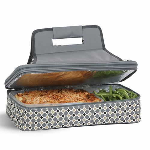 Mosiaic Entertainer Insulated Food Carrier And Casserole Carrier