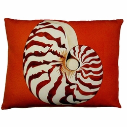Nautilus Outdoor Pillow