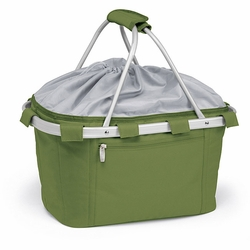 Olive Green Insulated Market Basket