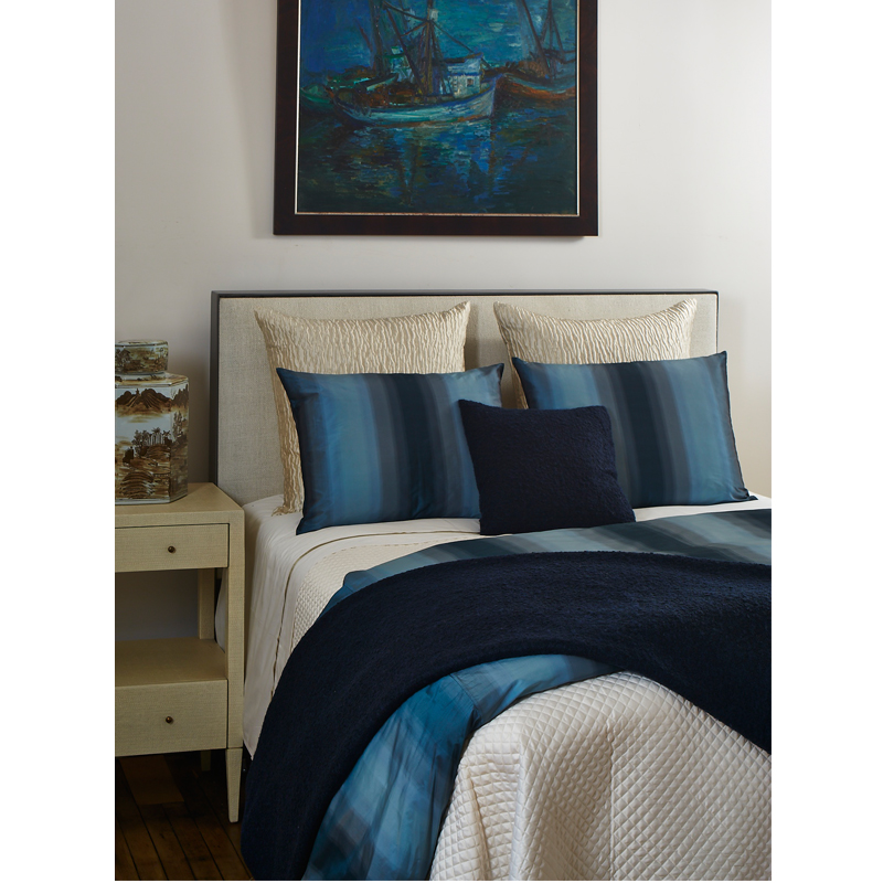 ombre duvet set in teal  ann gish bedding  king duvet cover  queen duvet set