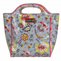 Paradise Gray Insulated Lunch Tote by Hadaki
